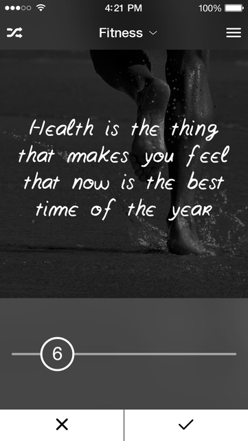 Kwote: A Quote Maker for Inspirational and Motivational Quotes, Sayings and Text on Photo Background Editor screenshot 4