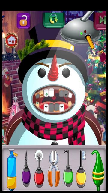Christmas Dentist Doctor Kid Games (Girls & Boys) screenshot 3
