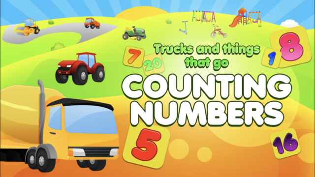Learn Trucks & Numbers screenshot 1