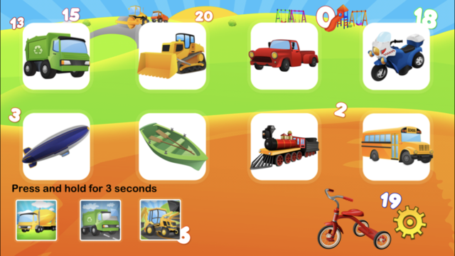Learn Trucks & Numbers screenshot 2