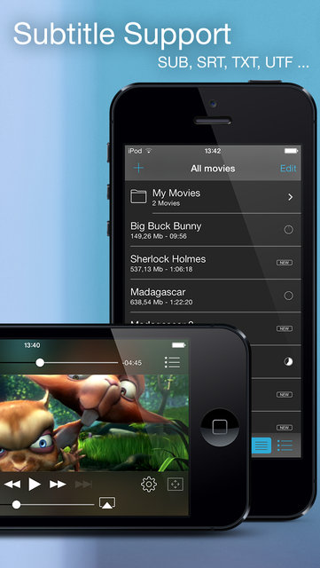 Movie Player Pro – Plays any Video screenshot 2