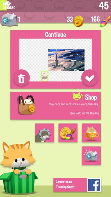 Hungry Cat Picross screenshot 8
