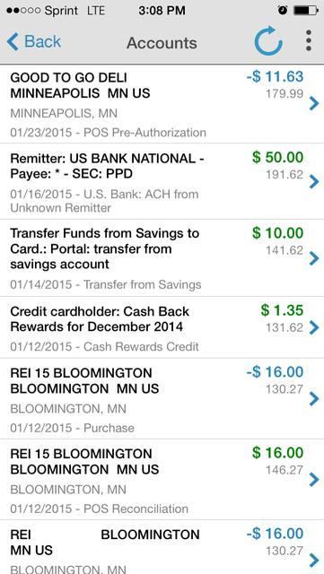 U.S. Bank Focus screenshot 3