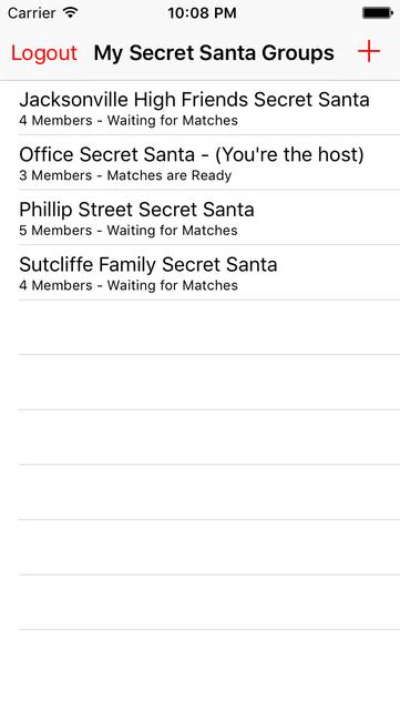 Secret Santa Generator screenshot 1