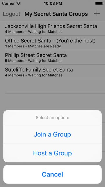 Secret Santa Generator screenshot 2