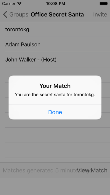 Secret Santa Generator screenshot 3
