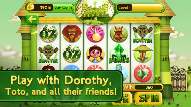 Slots Wizard of Oz screenshot 2
