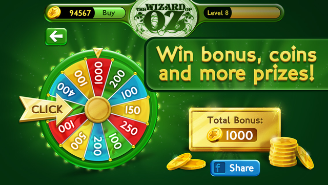 Slots Wizard of Oz screenshot 4