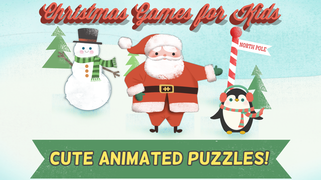 Christmas Games for Kids- Toddler Jigsaw Puzzles screenshot 1