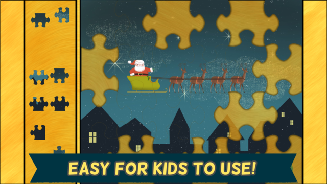 Christmas Games for Kids- Toddler Jigsaw Puzzles screenshot 3
