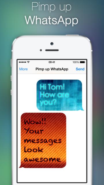 Pimp up for WhatsApp screenshot 1