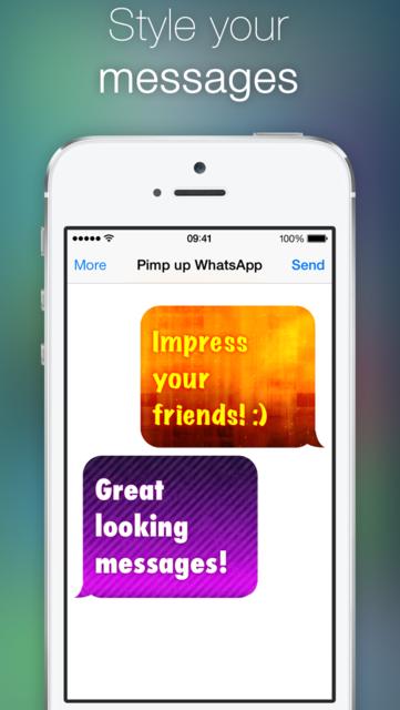 Pimp up for WhatsApp screenshot 2