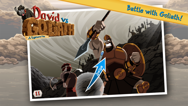 David vs Goliath - Bible Story screenshot 6