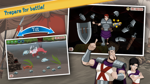 David vs Goliath - Bible Story screenshot 9