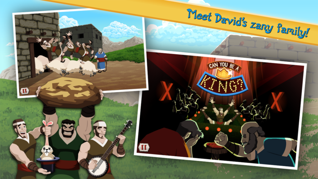 David vs Goliath - Bible Story screenshot 10