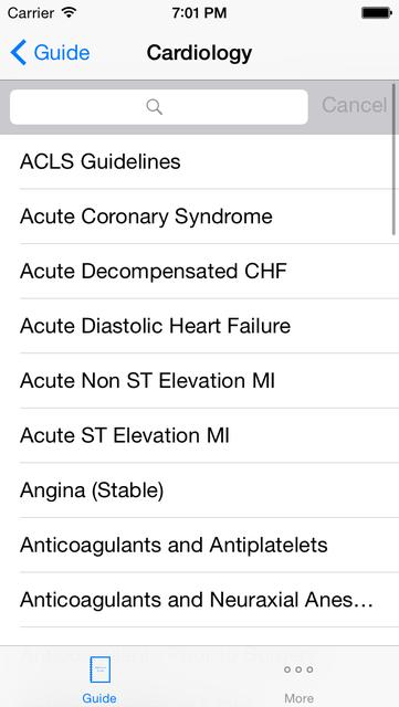 Medicine Guide screenshot 2
