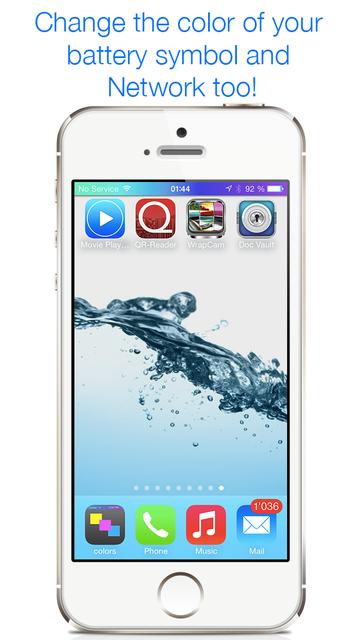Colors Unleashed - Status Bar Designer screenshot 2
