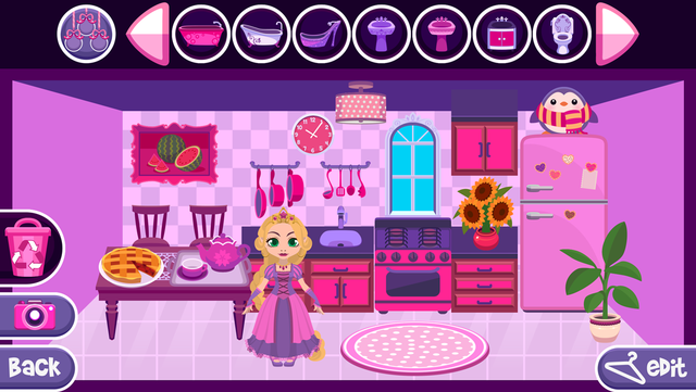 My Princess Castle - Fantasy Doll House Maker Game for Kids and Girls screenshot 5