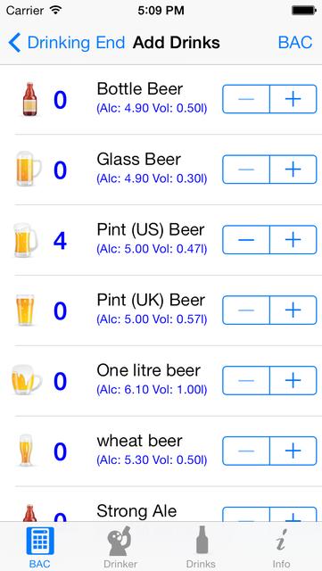 iBAC Calculator screenshot 2