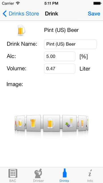 iBAC Calculator screenshot 3