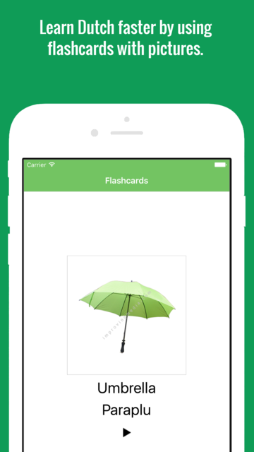 Dutch Flashcards with Pictures screenshot 3