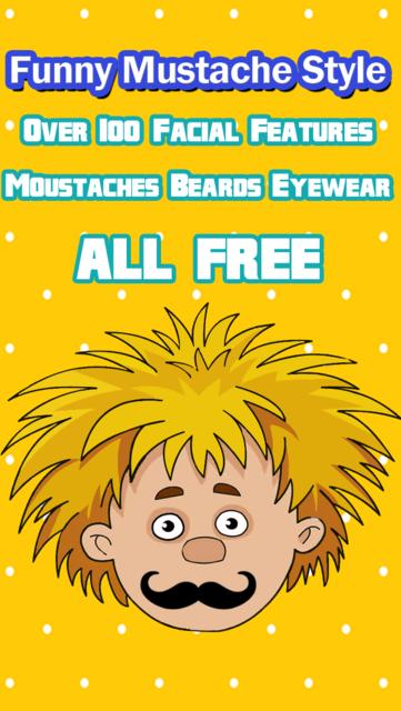 Funny Mustache Style screenshot 1