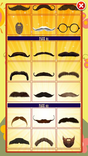 Funny Mustache Style screenshot 4