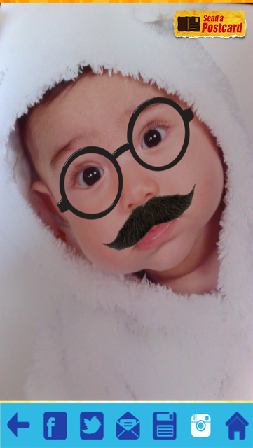 Funny Mustache Style screenshot 5