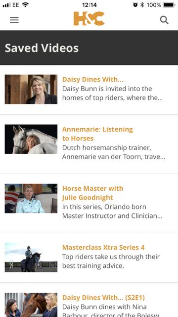 H&C: Equestrian Video screenshot 6