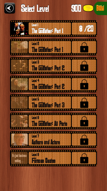 The Godfather: Great Movie Personages screenshot 5