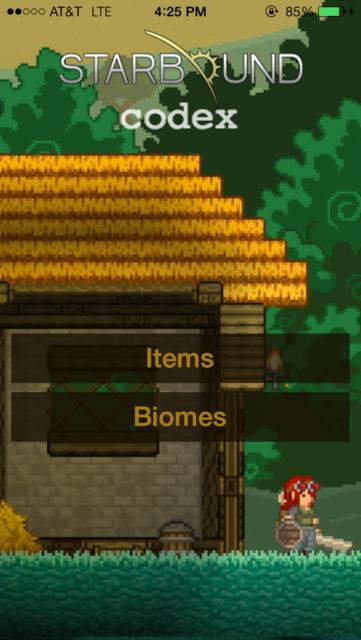 Codex - For Starbound screenshot 1