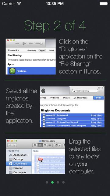 Ringtones for iPhone - Ringtone Maker from Music screenshot 2