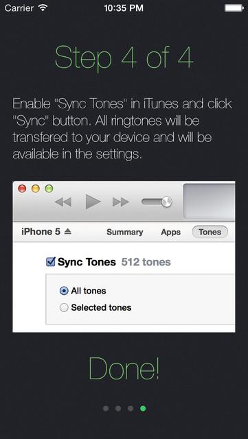 Ringtones for iPhone - Ringtone Maker from Music screenshot 4