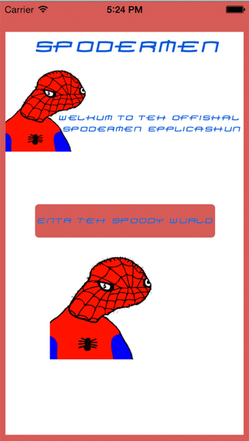 Spodermen screenshot 1