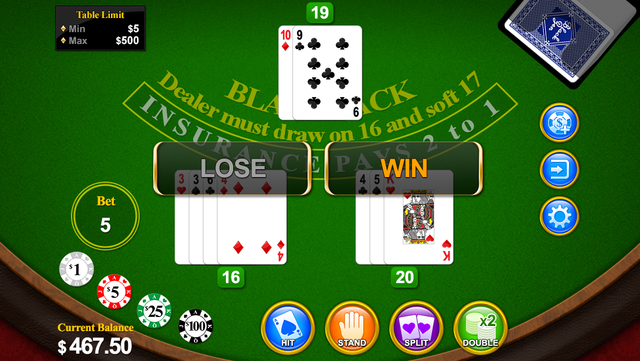 Blackjack 21 for 2014 screenshot 1
