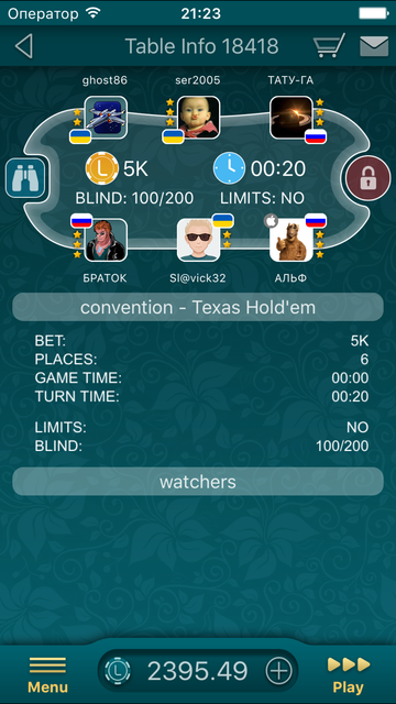 Poker LiveGames screenshot 4