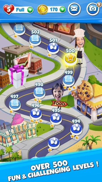 Crazy Kitchen: Match 3 Puzzles screenshot 3