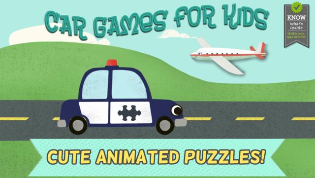 Car Games for Kids- Fun Cartoon Jigsaw Puzzles HD screenshot 6