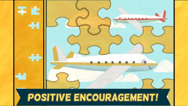 Car Games for Kids- Fun Cartoon Jigsaw Puzzles HD screenshot 10