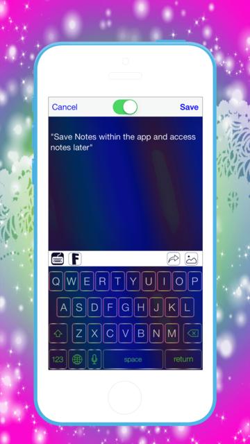 Pimp My Keyboard To Swipe & Type & Cool Fonts screenshot 3