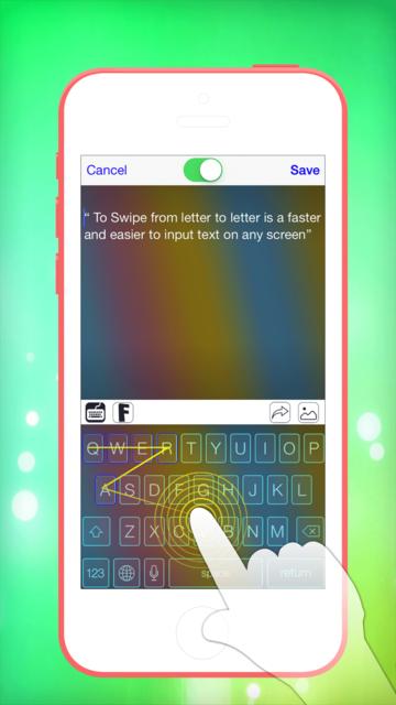 Pimp My Keyboard To Swipe & Type & Cool Fonts screenshot 5
