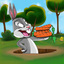Looney tunes style jumping game!