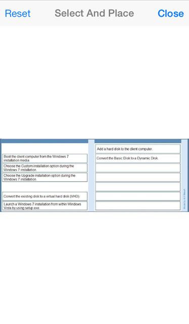 VCE Exam Simulator screenshot 18