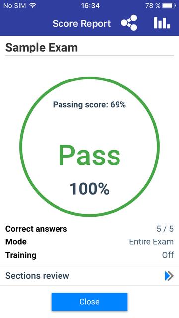 VCE Exam Simulator screenshot 8