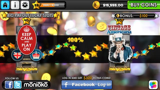 Big Payout Lucky Slots - FREE Casino Slots screenshot 2