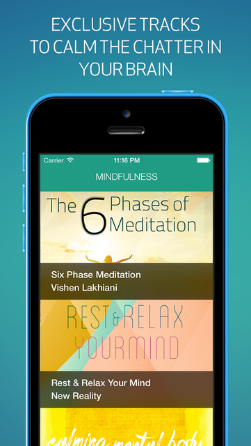 Mindfulness - Everyday guided meditations screenshot 1