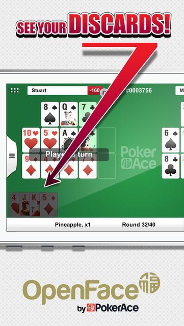 Open Face by PokerAce screenshot 3