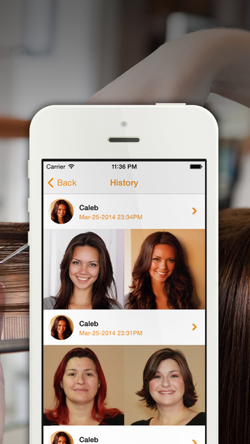 OhMySalon - A fun, simple, and useful app for your salon! screenshot 2