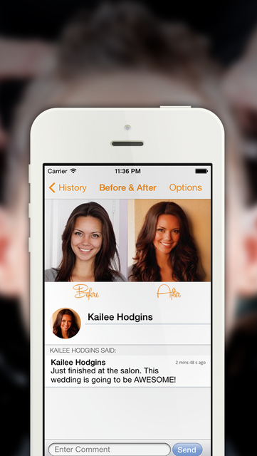 OhMySalon - A fun, simple, and useful app for your salon! screenshot 3