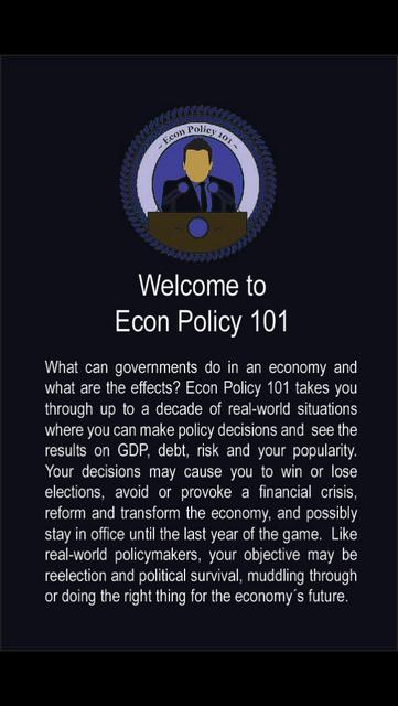Econ Policy 101 screenshot 1